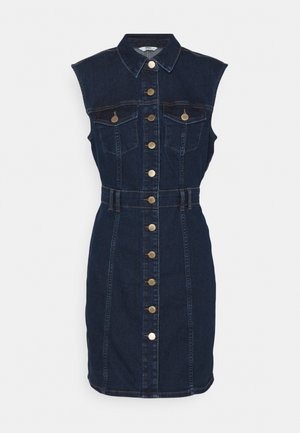 ONLFRANKIE LIFE DRESS - Denim dress - medium blue denim
