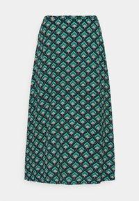King Louie - JUNO SKIRT EMPEROR - A-line skirt - island green - 0