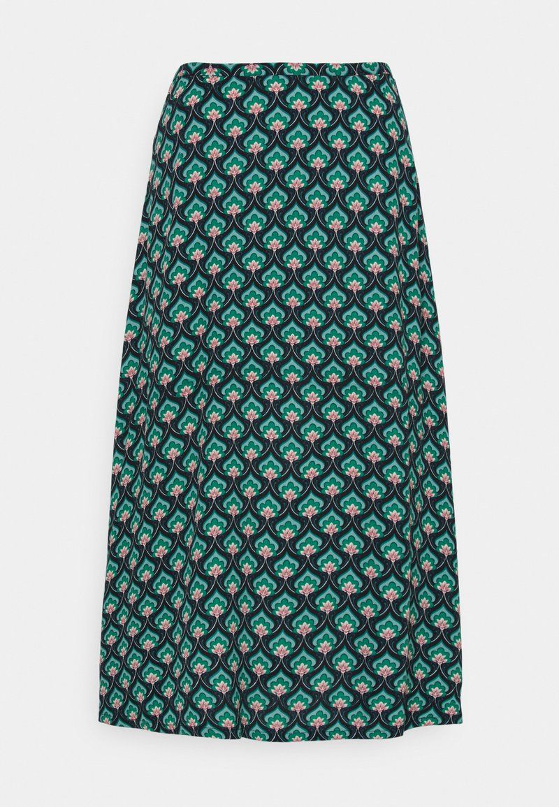 King Louie - JUNO SKIRT EMPEROR - A-line skirt - island green