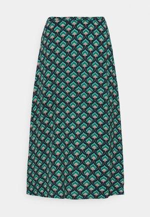 JUNO SKIRT EMPEROR - Áčková sukně - island green