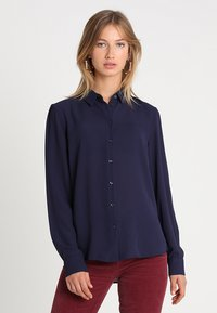 New Look - PLAIN LEAD - Skjorte - navy - 0