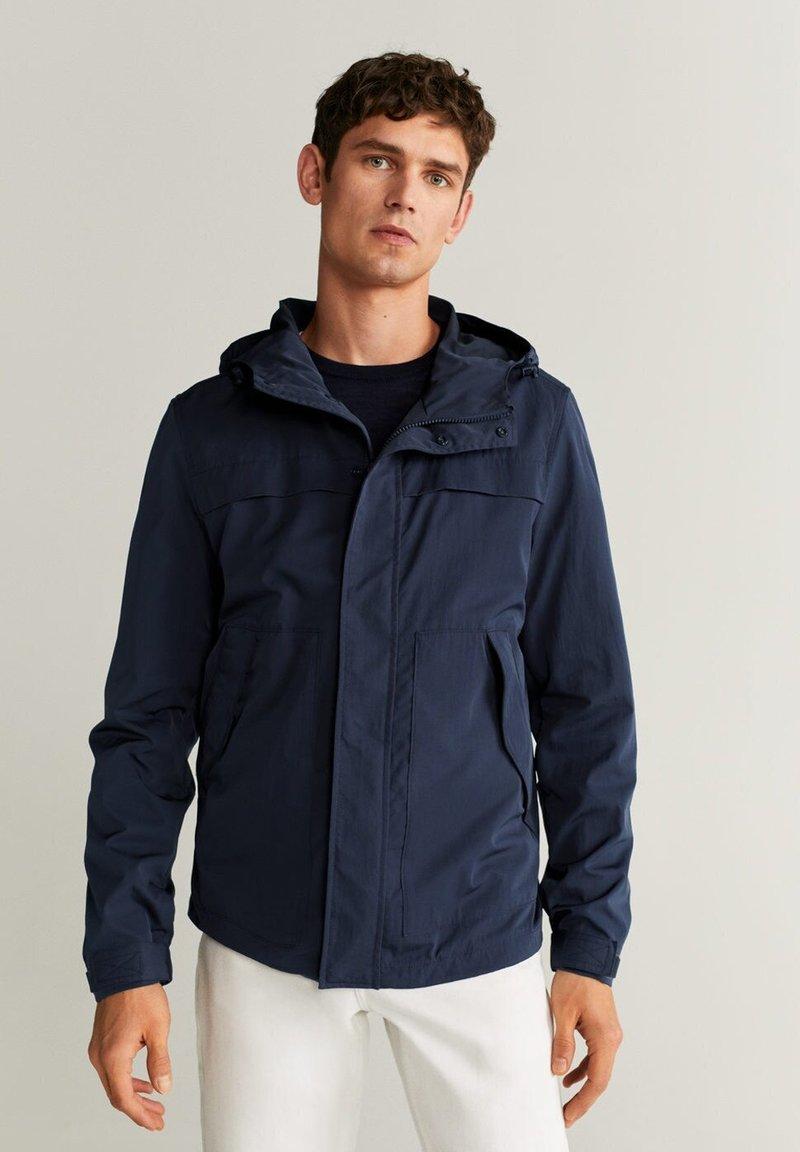 Mango - SUFI - Summer jacket - dunkles marineblau