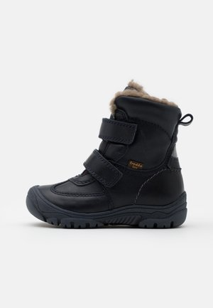 LINZ TEX MEDIUM FIT UNISEX - Botas para la nieve - dark blue