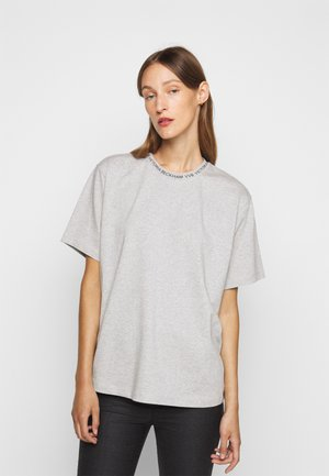 LOGO - Basic T-shirt - grey melange