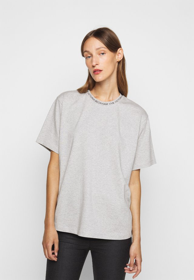 LOGO - T-shirt basic - grey melange