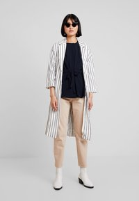 French Connection - WAIST - Blouse - utility blue - 1