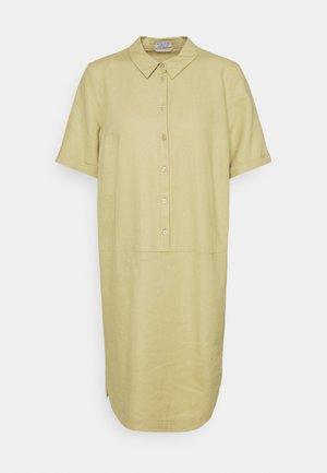 DRESS - Skjortklänning - muted lime