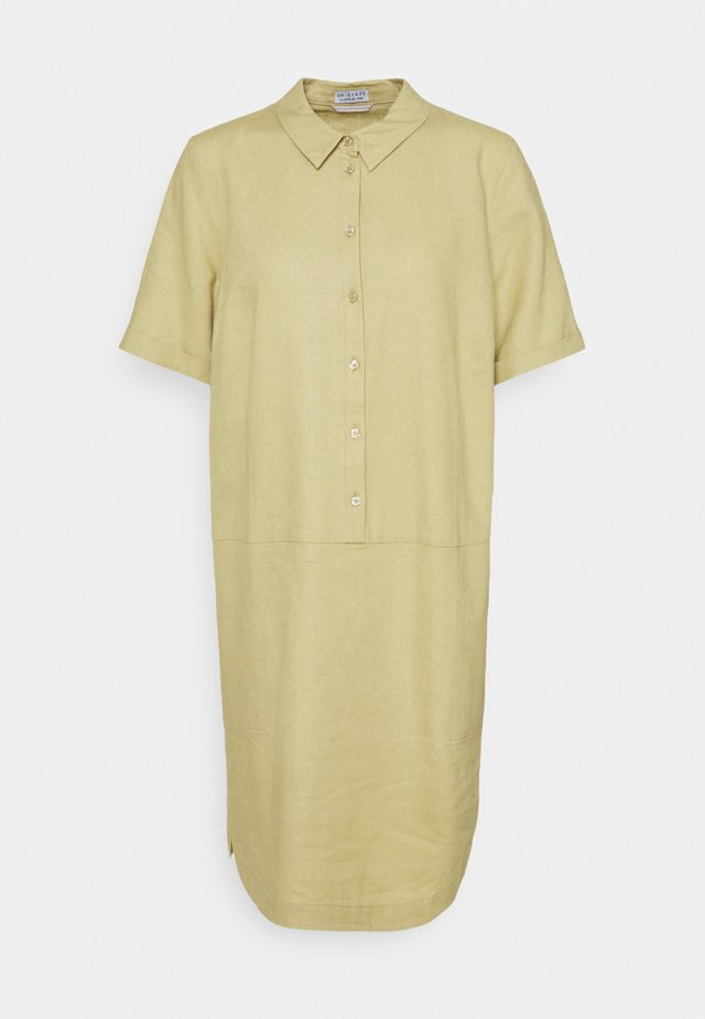 DRESS - Abito a camicia - muted lime