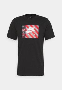 Nike Sportswear - TEE BY AIR  - Print T-shirt - black - 0