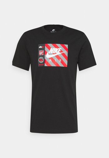 TEE BY AIR  - T-shirt con stampa - black