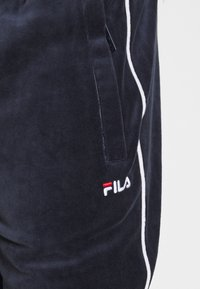 Fila - BARY - Tracksuit bottoms - black iris - 4