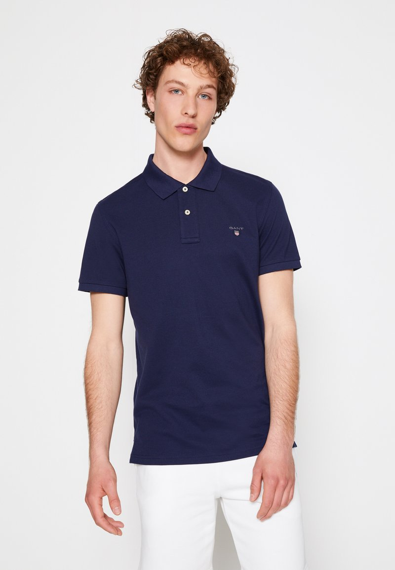 GANT - THE ORIGINAL RUGGER - Piké - evening blue