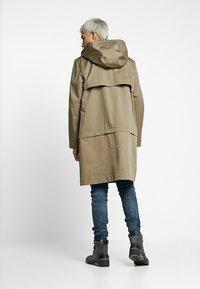 Diesel - J-KODORY JACKET - Short coat - beige/olive - 2