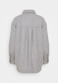 Moss Copenhagen - MAUDE JACKET - Summer jacket - mottled light grey - 1