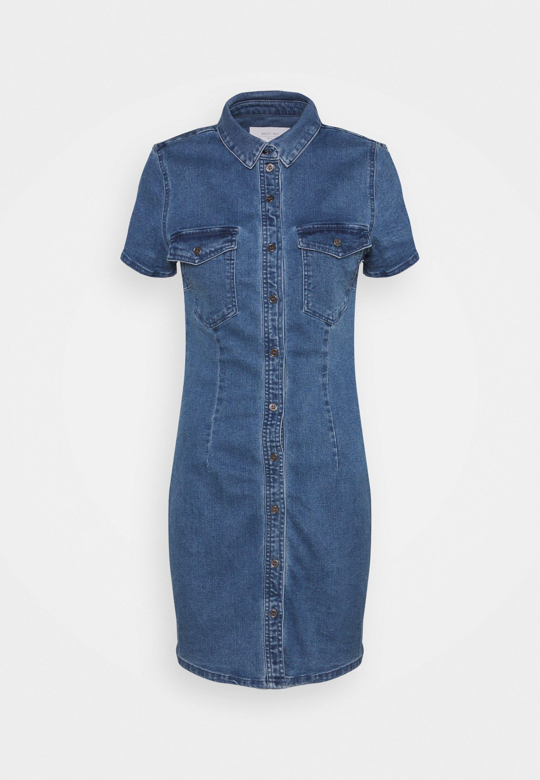 Damen NMJOY DRESS - Jeanskleid