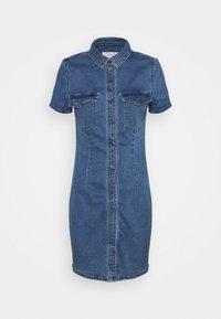 Noisy May - NMJOY DRESS - Denim dress - medium blue denim - 0