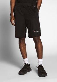 Champion Reverse Weave - MESH SHORTS - Shorts - black - 0