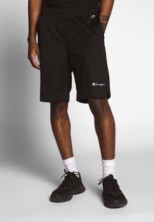 MESH SHORTS - Shorts - black