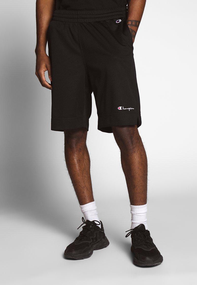 Champion Reverse Weave - MESH SHORTS - Shorts - black