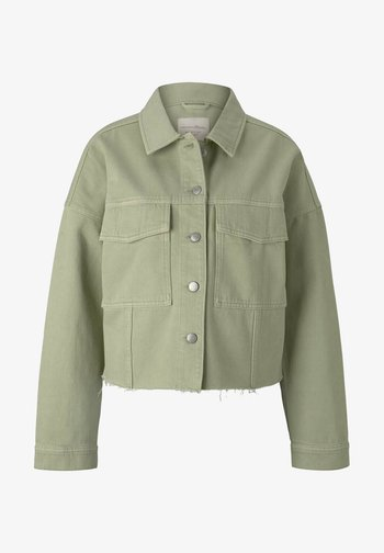 Denim jacket - light moor green