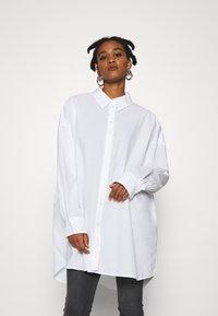 Weekday - TOVA - Button-down blouse - white - 0