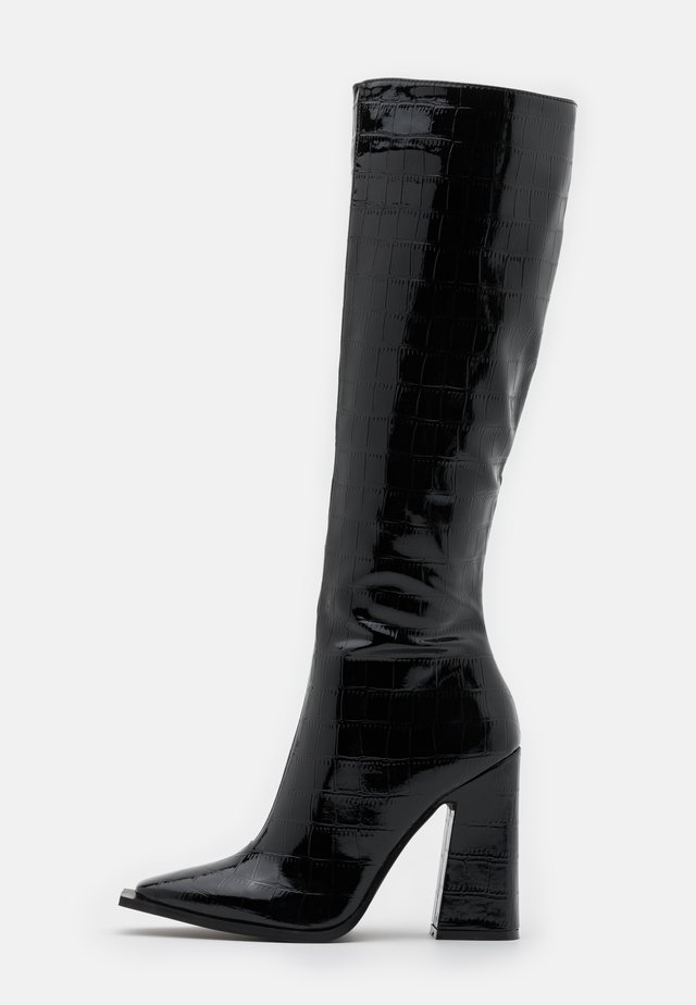 SPHERE - High heeled boots - black