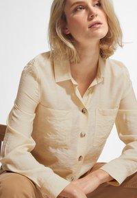 comma casual identity - Button-down blouse - off-white - 3
