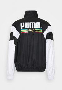 Puma - WORLDHOOD TRACK - Veste de survêtement - black - 1