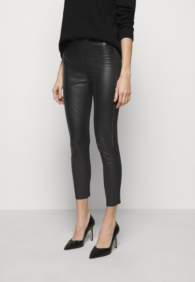 FLAVIO TROUSERS - Leggings - black