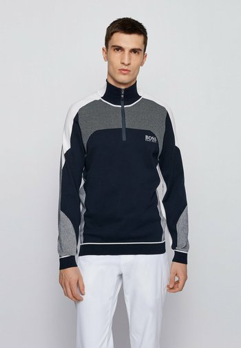 ZORDI - Stickad tröja - dark blue