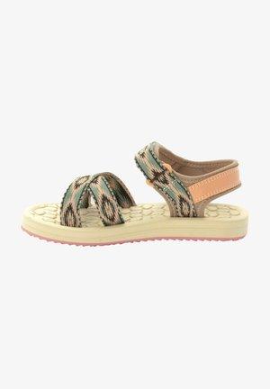 ZULU K - Walking sandals - beige / rose