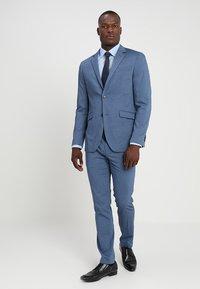 Pier One - Suit - mottled blue - 1
