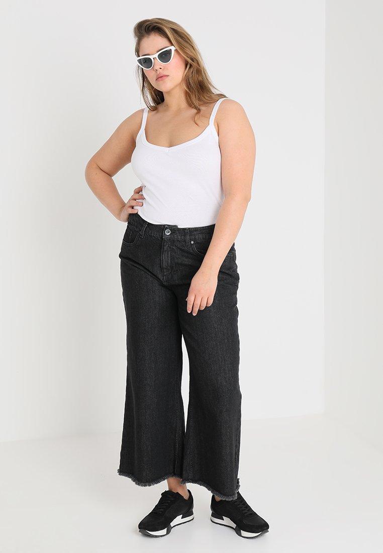 Donna LADIES CULOTTE - Jeans a zampa