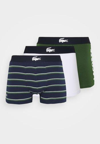 3 PACK - Underkläder - thym/marine/blanc