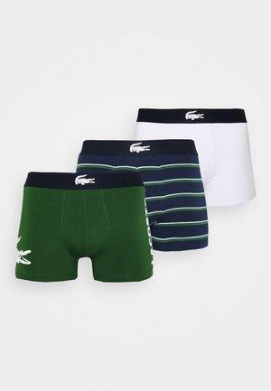 3 PACK - Pants - thym/marine/blanc