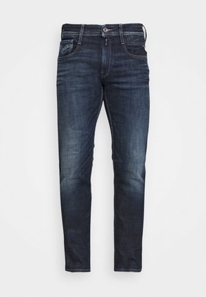 ANBASS AGED - Vaqueros slim fit - dark blue