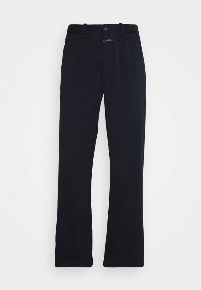 LIVINGTON WIDE - Pantalon classique - black navy