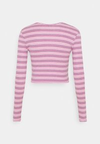 BDG Urban Outfitters - STRIPED CARDIGAN SET - Cardigan - pink - 1