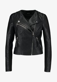 Vero Moda - VMRIA SHORT JACKET - Faux leather jacket - black - 4