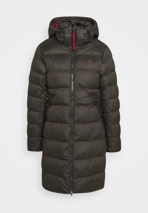 WHISTLER SLIM LONG COAT - Vinterfrakker - asfalt