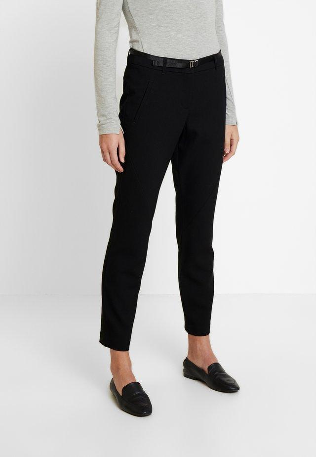 MIA - Spodnie materiałowe - deep black