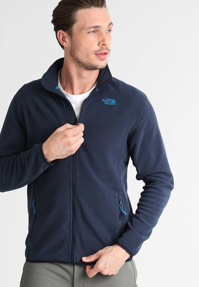 M 100 GLACIER FULL ZIP - EU - Fleecetakki - urban navy
