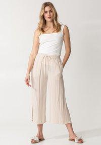 Indiska - ELSIE  - Trousers - beige - 0