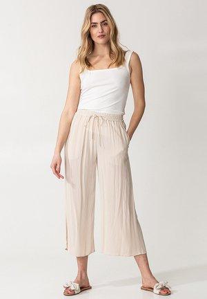 ELSIE  - Trousers - beige