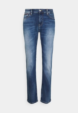 SCANTON - Slim fit jeans - queens mid blue