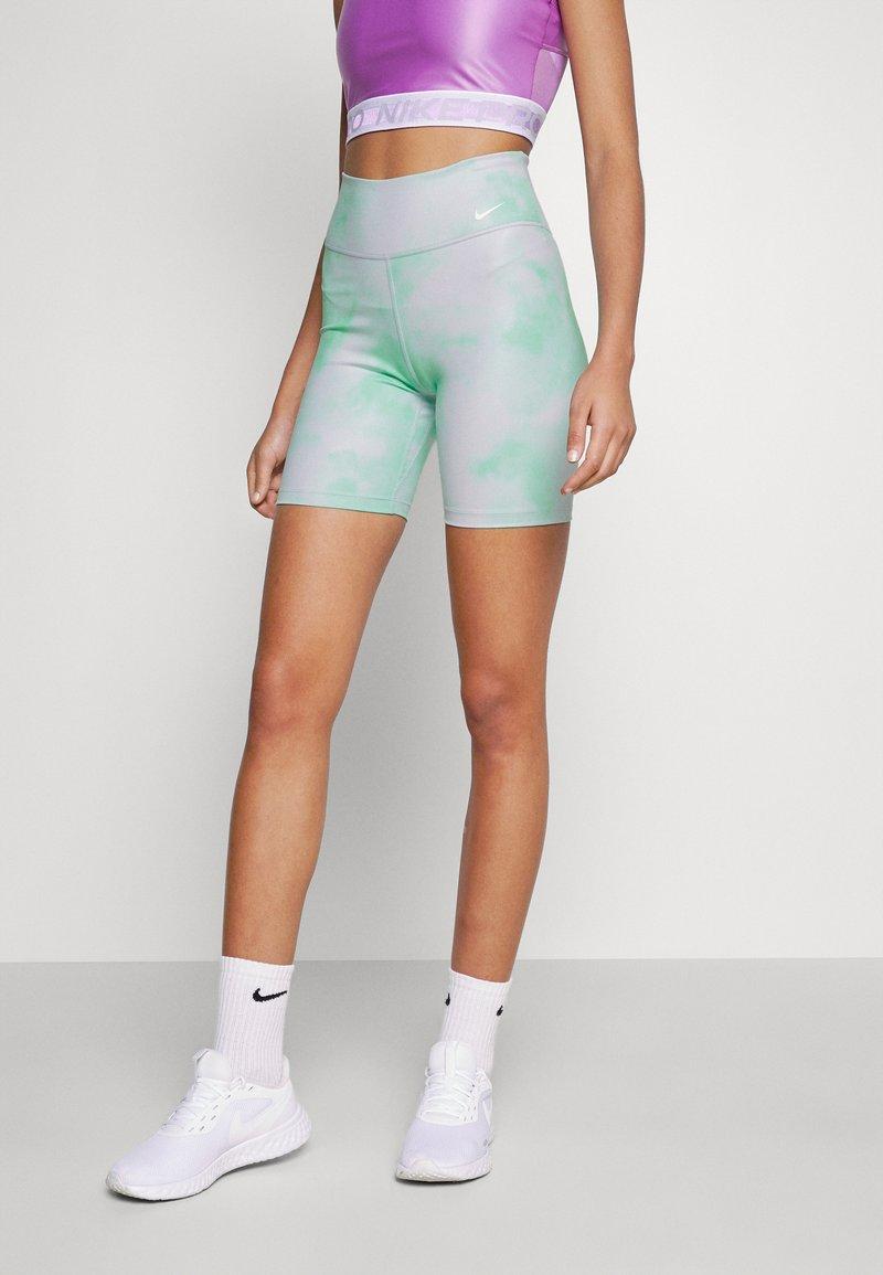 Nike Performance - ONE CORE - Leggings - green glow/white