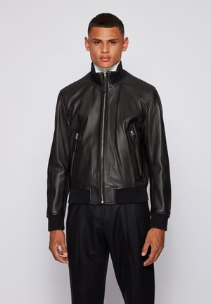 NEOVEL - Leather jacket - black