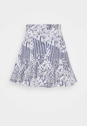 ADORNARE - A-line skirt - navy blue