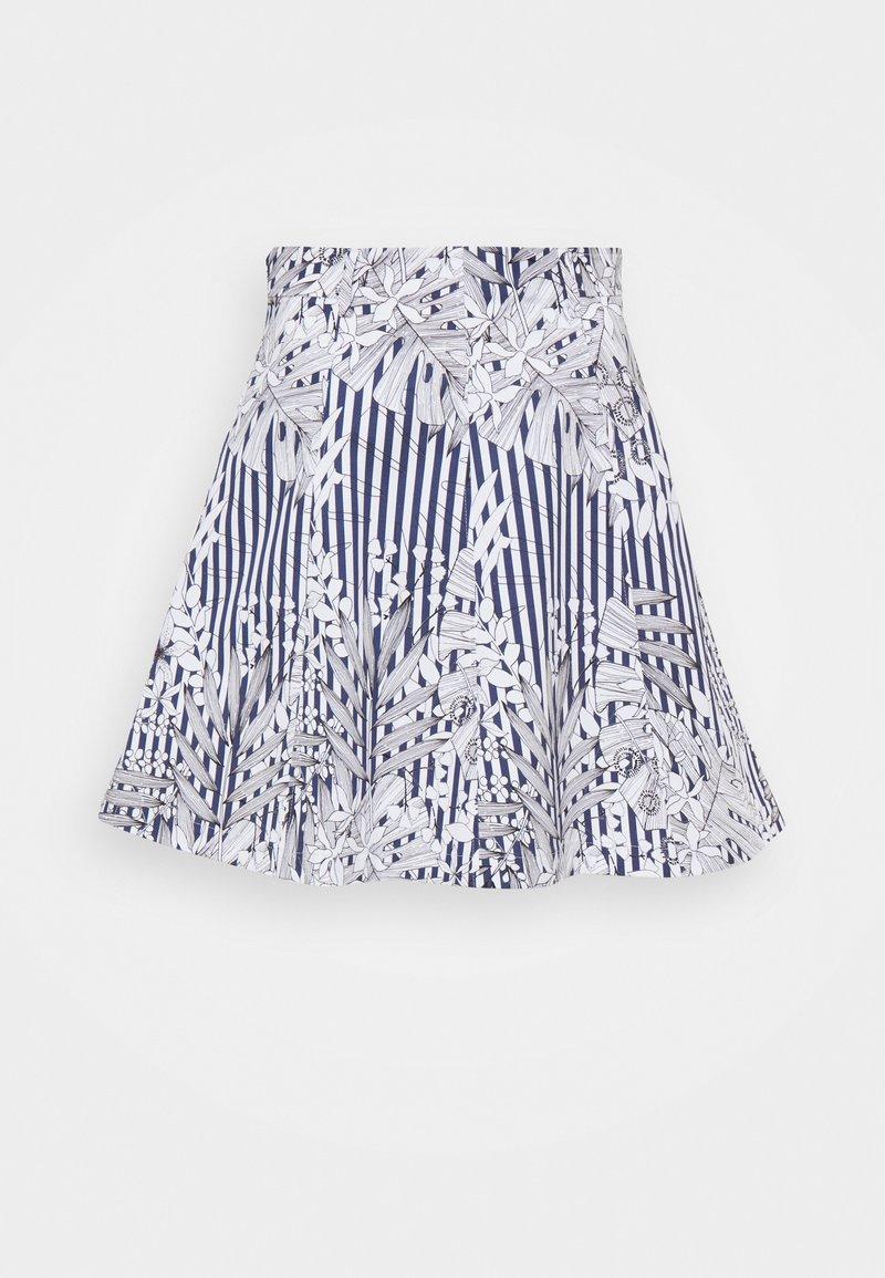 MAX&Co. - ADORNARE - A-line skirt - navy blue