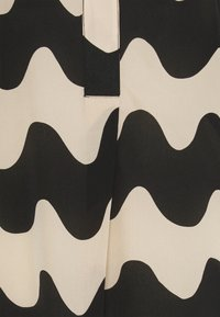 Marimekko - CLASSICS OLLAKO PIKKU LOKKI TUNIC - Tunic - black/beige - 2